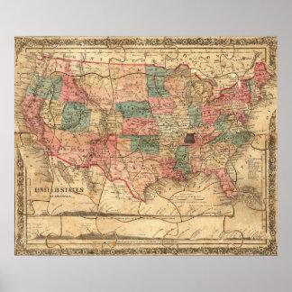 Los Estados Unidos de América 5 Póster