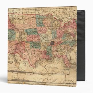 """Los Estados Unidos de América 8 Carpeta 1 1/2"""""""