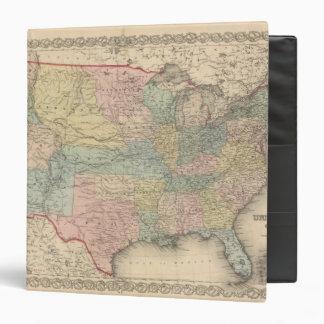 """Los Estados Unidos de América Carpeta 1 1/2"""""""