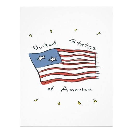 Los Estados Unidos de América Tarjetones
