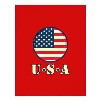 """Los Estados Unidos de América Folleto 8.5"""" X 11"""""""