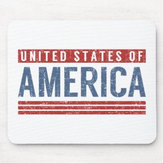 Los Estados Unidos de América Mouse Pad