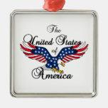 Los Estados Unidos de América Ornamento De Navidad