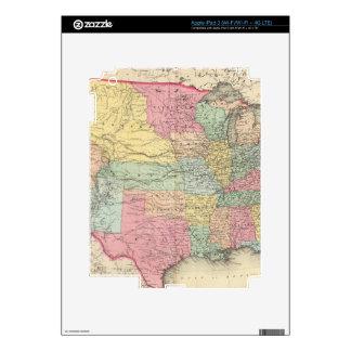 Los Estados Unidos de América Pegatinas Skins Para iPad 3