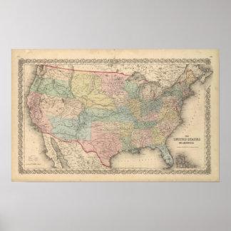 Los Estados Unidos de América Poster