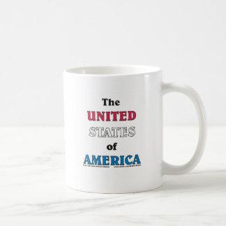los Estados Unidos de América Taza