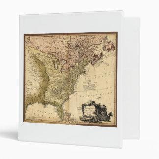 """Los Estados Unidos de Norteamérica trazan (1784) Carpeta 1"""""""