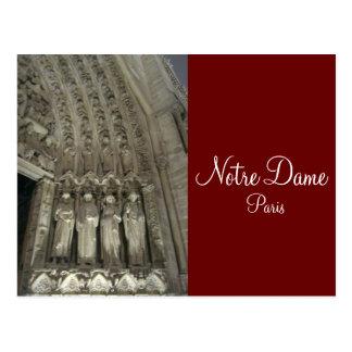 Los estatutos de Notre Dame Postales