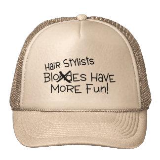 Los estilistas se divierten más gorras de camionero