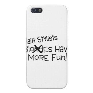 Los estilistas se divierten más iPhone 5 carcasa