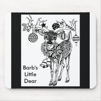 ¡Los estimados pequeños ciervos del navidad Alfombrilla De Ratón