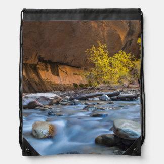 Los estrechos del río de la Virgen en otoño Mochila