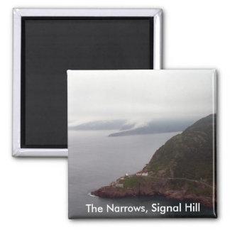 Los estrechos, imán de la colina de la señal