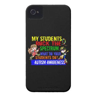 Los estudiantes oscilan el autismo del espectro