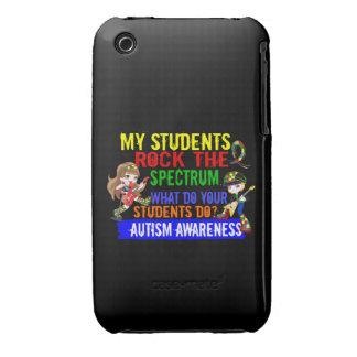 Los estudiantes oscilan el autismo del espectro iPhone 3 Case-Mate fundas
