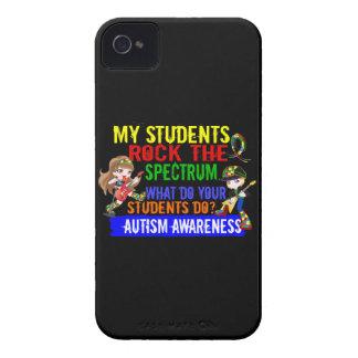 Los estudiantes oscilan el autismo del espectro iPhone 4 Case-Mate cobertura