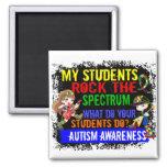 Los estudiantes oscilan el autismo del espectro imán para frigorifico