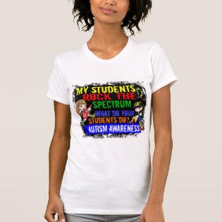 Los estudiantes oscilan el autismo del espectro tee shirts