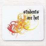Los estudiantes son calientes alfombrillas de raton