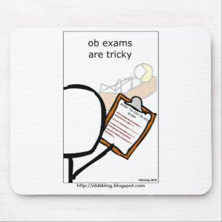 Los exámenes de OB son difíciles Alfombrillas De Ratón