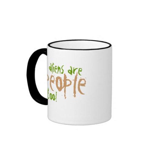 Los extranjeros son taza de café de la gente tambi