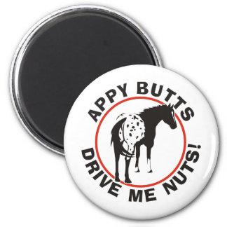 Los extremos de Appy me conducen Nuts Imán Redondo 5 Cm