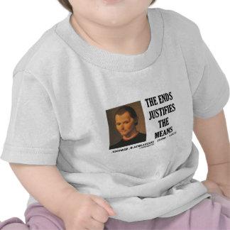 Los extremos de Maquiavelo justifican la cita de l Camisetas