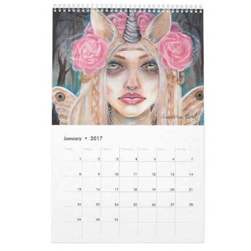 Los FAERIES hacen calendarios por Kim Turner 2012