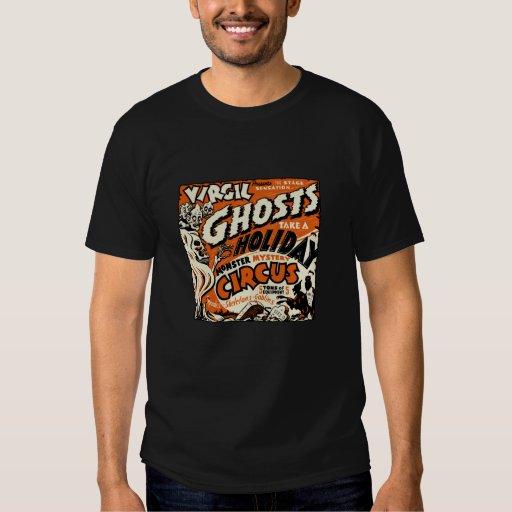 los fantasmas de los años 40 toman una camiseta playeras