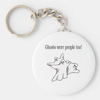 Los fantasmas eran gente también llaveros personalizados