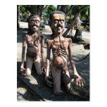 … Los fantasmas maldecidos en infierno budista Tarjetas Postales