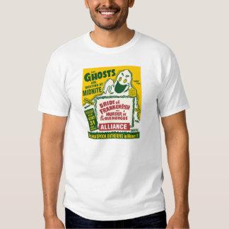 Los fantasmas se están encontrando en la camiseta camisas