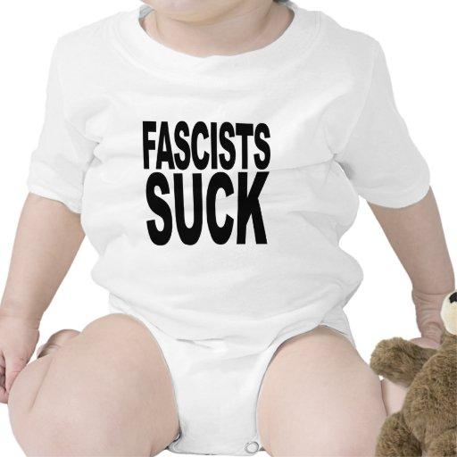 Los fascistas chupan camisetas