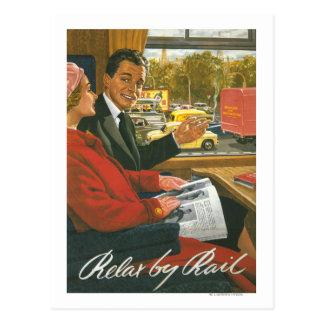 Los ferrocarriles británicos se relajan por el postal