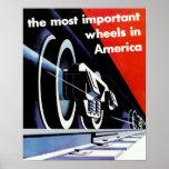 Los Ferrocarriles-Más importantes ruedan adentro A Poster