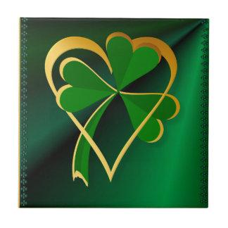 los ficheros de encargo de St Patrick del amor del Azulejo Cuadrado Pequeño