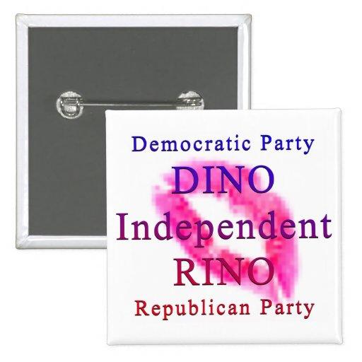Los fiestas políticos pin