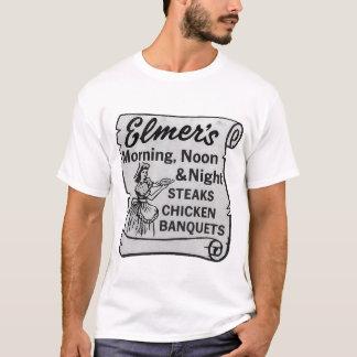 Los filetes de Elmer, pollo, banquetean arte del Playera