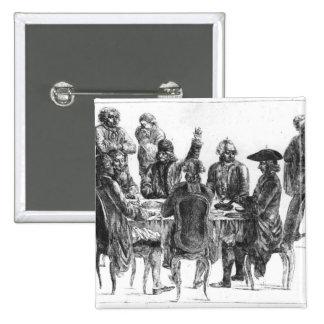 Los filósofos en la cena, c.1750 pins