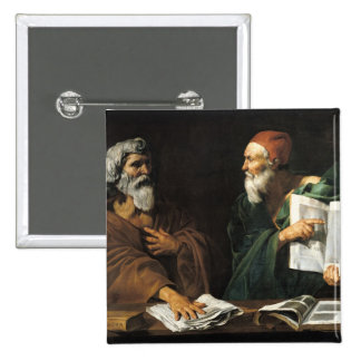Los filósofos pin cuadrado
