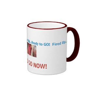 ¡los fireworkcolors, encendidos para arriba… alist tazas de café