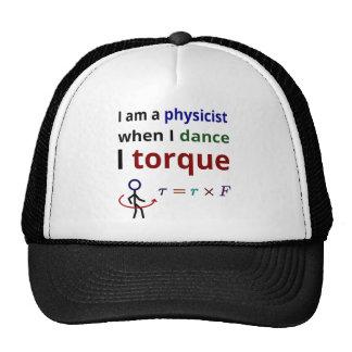Los físicos bailan el esfuerzo de torsión gorro