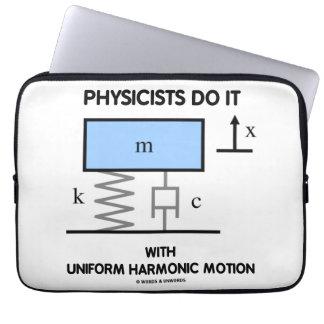 Los físicos lo hacen con el movimiento armónico mangas computadora