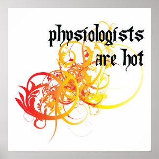 Los fisiólogos son calientes poster