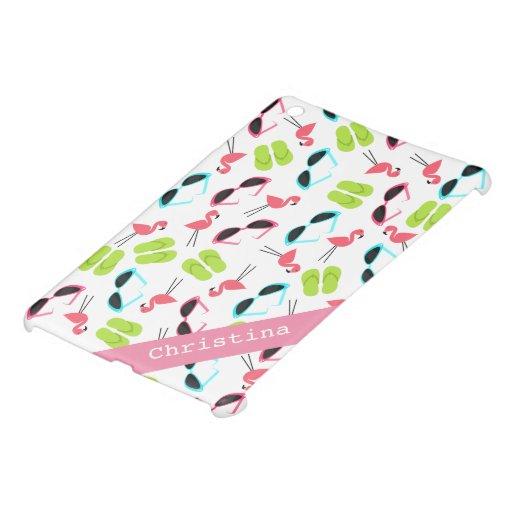 Los flamencos y los flips-flopes personalizaron la iPad mini carcasas