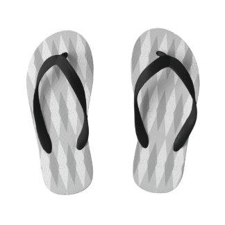 Los flips-flopes del niño gris moderno de Argyle Chanclas Para Niños