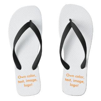 Los flips-flopes poseen el color - uni blanco