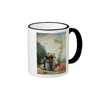 Los floristas o la primavera, 1786 tazas de café