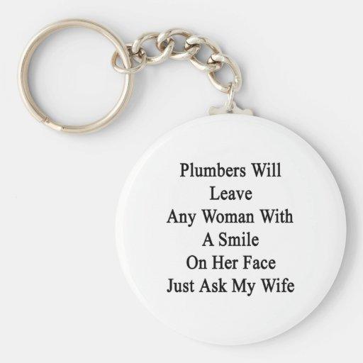 Los fontaneros dejarán a cualquier mujer con una s llaveros personalizados
