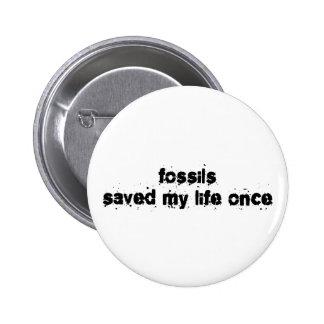 Los fósiles ahorraron mi vida una vez pin